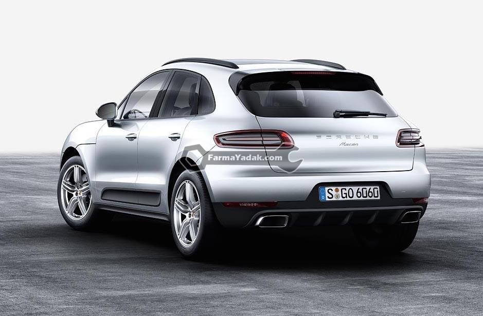 2016 Porsche Macan 4cyl rear لوازم یدکی پورشه ماکان