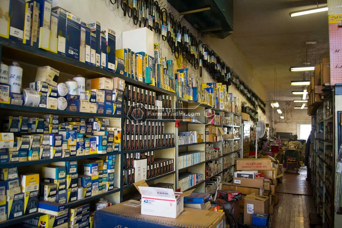 Auto Parts Store لوازم یدکی پورشه ماکان