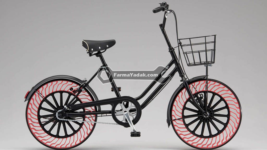Airless Tires 01 تایرهای بدون باد