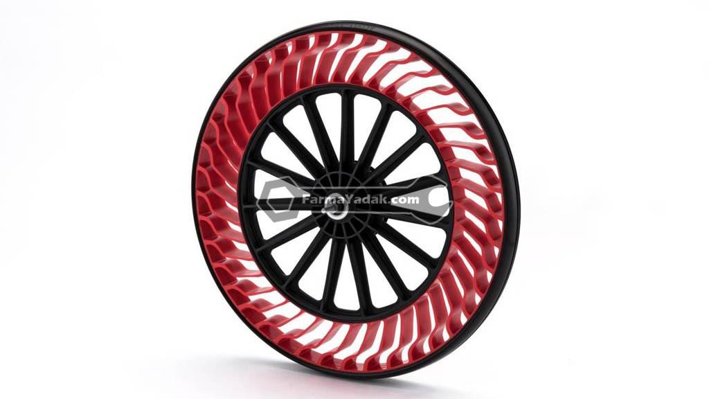 Airless Tires تایرهای بدون باد