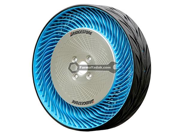 Bridgestone Airless Tires تایرهای بدون باد